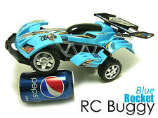 RC Buggy Radio Control RC Car Radio Control suspension LED's 'Rocket' - Blue