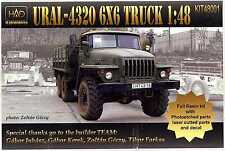 Hungarian Aero Decals 1/48 URAL-4320 6X6 TRUCK Full Resin Kit