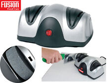 FUSION Professional electric COLTELLO FORBICI AFFILATORE Honer due fasi per affilatura