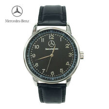 New Luxury Mercedes Benz Leather Watch Men Mens Business Brand Name