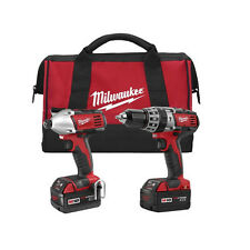 Milwaukee M18 18V Li-Ion XC 2-Tool Combo Kit 2697-22 Recon