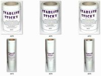 Starlite Sticky Self Adhesive Embroidery Backing Stabiliser  Choice of Sizes