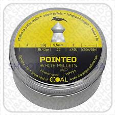 Classic Pointed Hunting / Target WP Air Rifle  Pellets Cal. .22 / 5.5mm 15.43grn