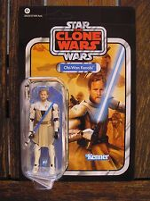 STAR WARS OBI-WAN KENOBI THE CLONE WARS  VC 103 VINTAGE COLLECTION