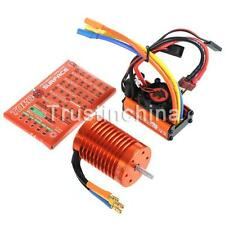 SKYRC LEOPARD 60A ESC 9T 4370KV Brushless Motor 1/10 Car Combo w/program card