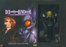 Death Note : Collector Edition 3 (3 DVD + 3 photos + 5 badges + Booklet + Doll)