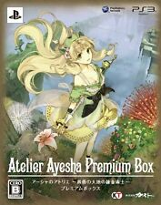 Used PS3 Atelier Ayesha Koukon No Daichi No Renkinjutsu Premium Box Japan Import