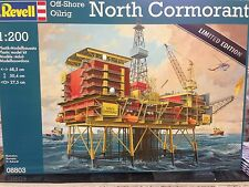 +++ revell off-shore oilrig North Cormorant 1:200 08803