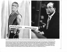 SHAWN MICHAELS JOSE LOTHARIO  WWF WRESTLING ORIGINAL VINTAGE glossy b&w photo