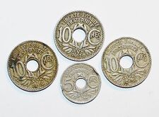 1918 - 1936 FRANCE 10 5 CENTIMES coins world lot vintage A+ COLLECTIBLES