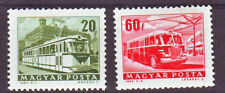 HUNGARY - 1963. Traffic, Tram and Bus - coil stamps - MNH