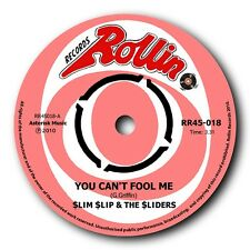 "SLIM SLIP & THE SLIDERS - ""YOU CAN'T FOOL ME"" TOUGH 60'S GARAGE SOUND - LISTEN"