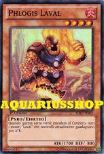 Yu-Gi-Oh! Phlogis Laval HA07-IT002 Super Rara ITA Fortissimo Carta Zexal   Nuovo