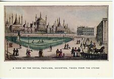 Postcard Brighton Royal Pavilion from 1830 Drawing Ex.Cond.  Uncirculated