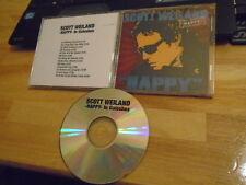 RARE PROMO Scott Weiland CD Happy in Galoshes STONE TEMPLE PILOTS David Bowie cv