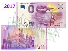 68 - Billet Touristique Zéro Euro France 2017 Parc du Petit Prince !