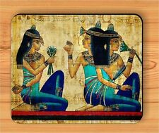 EGYPTIAN PRINCESS MURAL PAINT MOUSE PAD -drt5Z