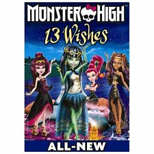 Monster High: 13 Wishes, Very Good DVD, Joni Goode, Kate Higgins, Audu Paden, De
