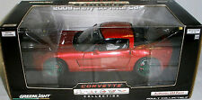 Greenlight C6 CORVETTE AUTHENTIC CRYSTAL RED Paint GREEN MACHINE only 63 made
