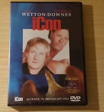 JOHN WETTON & GEOFFREY DOWNES-ICON-ACOUSTIC TV BROADCAST DVD SIGILLATO (SEALED)