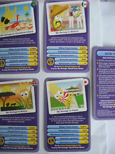 NEW TOP TRUMPS CARDS CHEESTRINGS PACK MR CHEESY TOP TRUMPS CARDS 5 CARDS