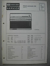 ITT/Schaub Lorenz Polo automatic 101 Service Manual, K006