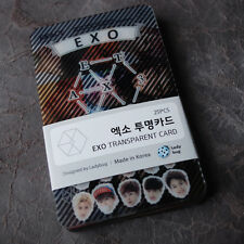EXO EXO-K EXO-M XOXO Transparent Photo Cards 25pcs Korea KPOP Star Gift
