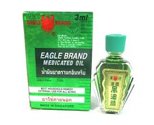 EAGLE  BRAND  MEDICATED OIL RELIEF  PAIN   DIZZINESS  3 ML