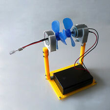 Small Simulation DC Wind Turbine Power Generator LED System Windmill Blades