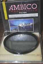Ambico 72mm Polarizer R-8945 Camera Filter with case