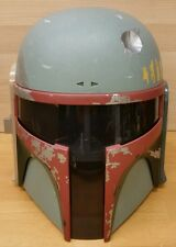 Star Wars Electronic Talking Boba Fett Helmet Tested and Working 2009