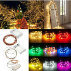 Xmas 1M 2M 3M 4M 5M 10M LED Copper Cable Wire Fairy Light String Lamp