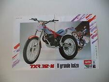 advertising Pubblicità 1988 MOTO APRILIA TXR 312 M TRIAL