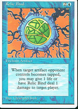 MAGIC THE GATHERING 4TH EDITION BLUE RELIC BIND