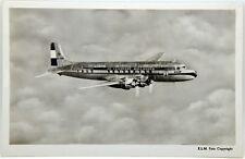 Cartolina Aviazione - Aereo In Volo Douglas DC-6 KLM - Non Viaggiata