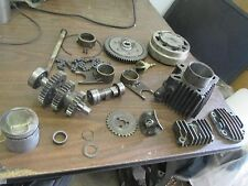 1973 Honda Z50 Small Finned Engine Covers Cylinder Barrel Clutch Etc Parts Lot