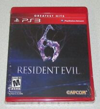 Resident Evil 6 for Playstation 3 Brand New! Factory Sealed!