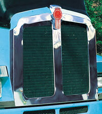 Kenworth T600 Stainless Steel Grill Bezel with Hood Deflector 1991 - 2007