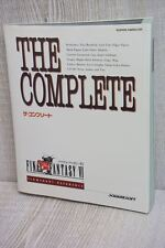 FINAL FANTASY VI 6 The Complete Guide SFC Book SE35*