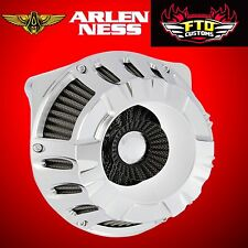 Arlen Ness Inverted Air Cleaner Kit Deep Cut Chrome 2000-up Big Twin 18-928
