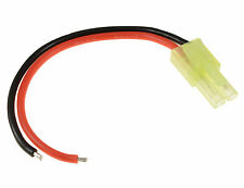 RC Male Tamiya Mini Battery Connector 18awg 10cm Wire