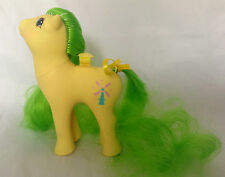My Little Pony g1/flutter ponies/viento Drifter/tan/Pat. incorporado/1986