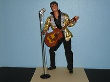 BARBIE Loves ELVIS PRESLEY De-Boxed KEN DOLL  Fully ARTICULATED Guitar Micophone