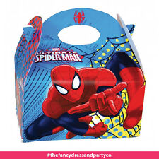 x24 Spiderman Party Box for Children Kids Food Loot Lunch Gift Birthday Box Bags