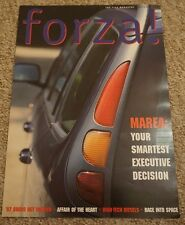 Fiat Official Owner's Magazine Marea Bravo HGT Preview 1990s