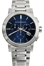 BLACK FRIDAY SALE Burberry BU9363  Mens Swiss Chronograph Stainless Steel Watch