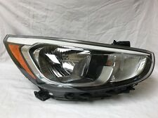 Hyundai Accent Halogen 2016 Headlight Headlamp Head Light Lamp OEM