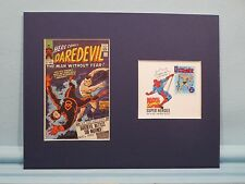 Marvel Comics Hero The Sub-Mariner against Daredevil & First Day Cover stamp