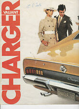 Comprehensive collection on USB -Valiant CHARGER E38 E49 & PACER brochures