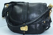 Juicy Couture Black Bag Shoulder Handbag Crossbody Women's Hobo Purse NWT